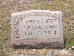 Ledora <I>Barfield</I> Britt