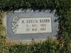 M. Adelia Baird