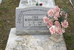 Julia <I>Chapman</I> Middlebrooks