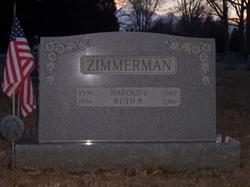 Ruth <I>Rahn</I> Zimmerman