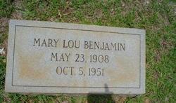 Mary Lou Benjamin