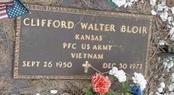 PFC Clifford Walter Bloir