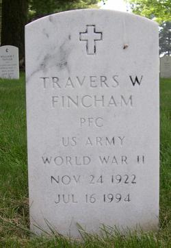 Travers W Fincham