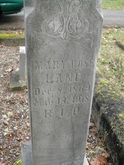 Mary Rose Lane
