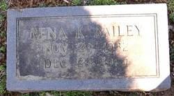 Rena Alleyne <I>Kibler</I> Bailey