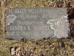 "Margaret Helen ""Helen"" <I>Brown</I> Farnsworth"