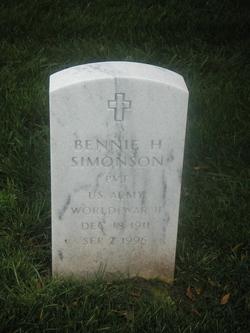 Bennie H Simonson