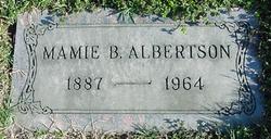 Mamie Delores <I>Baxley</I> Albertson