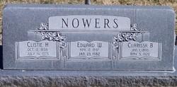Clarissa <I>Briggs</I> Nowers