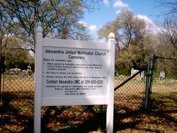 Alexandria United Methodist Church Cemetery