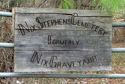 Nix-Stephens Family Cemetery
