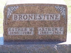 Arthur C Bronestine