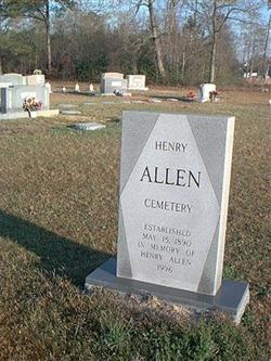 Henry Allen Cemetery