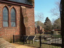 Jamestown Fort James Cemetery
