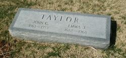 Emma Jane <I>Owens</I> Taylor