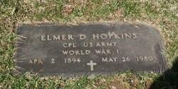 Elmer D Hopkins