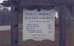 Indian Springs Southern Baptist Church Cemetery
