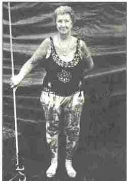 Lorett The Tattooed Lady <I>Love</I> Fulkerson