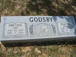 Zelma <I>Hodges</I> Godsby
