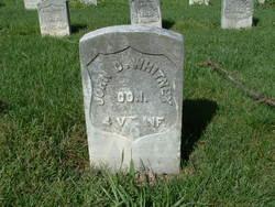 Pvt John D. Whitney
