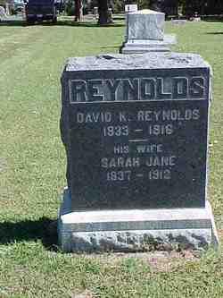 Sarah Jane <I>Reed</I> Reynolds