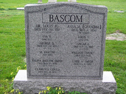 Dr Louis Hazelton Bascom