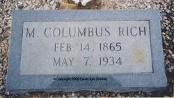 Martin Columbus Rich