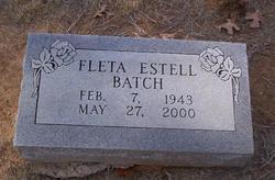 Fleta Estell <I>Eatherly</I> Batch