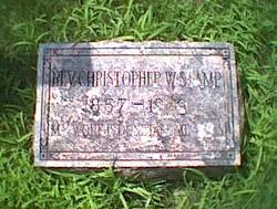 Rev Christopher Stamp