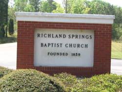 Richland Springs Baptist Church Cemetery