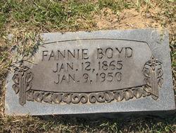 """Frances """"Fannie"""" <I>Alexander</I> Boyd"""