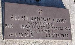 Allen Benson Autry