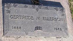 Gertrude May <I>Kramer</I> Ellerson