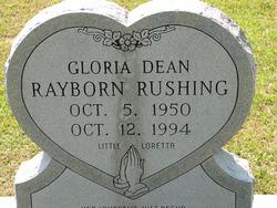 Gloria Dean <I>Rayborn</I> Rushing