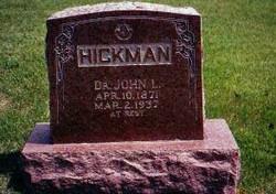 Dr John Lafayette Hickman