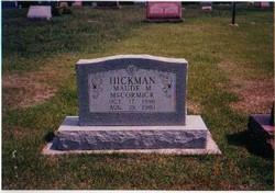 Maude <I>Miller</I> Hickman-McCormick