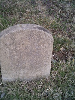Only Last Name On Stone, Livergood