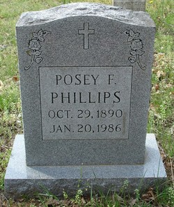 Posey F. Phillips