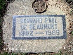 Bernard Paul De Beaumont