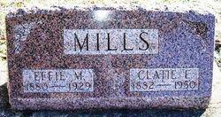 """Clayton E. """"Clatie"""" Mills"""
