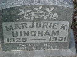 Marjorie K. Bingham