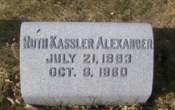 Ruth <I>Kassler</I> Alexander
