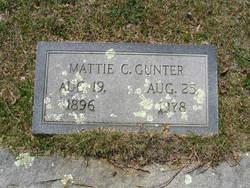 Mattie C. Gunter