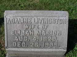 Adaline <I>Livingston</I> Marion