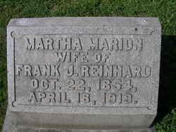 Martha <I>Marion</I> Reinhard
