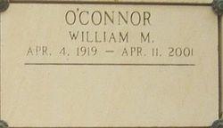 William M O'Connor