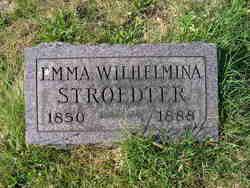 Emma Wilhelmina Stroedter
