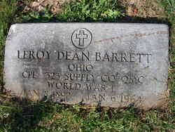 Corp Leroy Dean Barrett