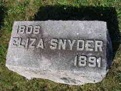Eliza <I>Gordon</I> Snyder