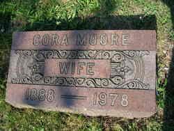 Cora Edith <I>Spangler</I> Moore